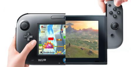 La Switch tiene el triple de más y mejores juegos que la Wii U en su primer año