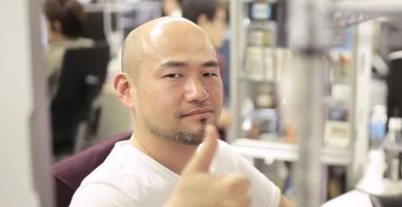 Kamiya enciende las redes con fotografía afuera de las oficinas de Capcom