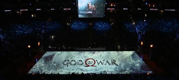 Estrenan nuevo tráiler de <em>God Of War</em> utilizando una cancha de baloncesto