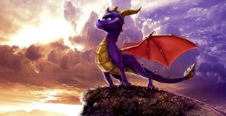 Remaster de la trilogía de <em>Spyro</em> llegaría este año a PS4