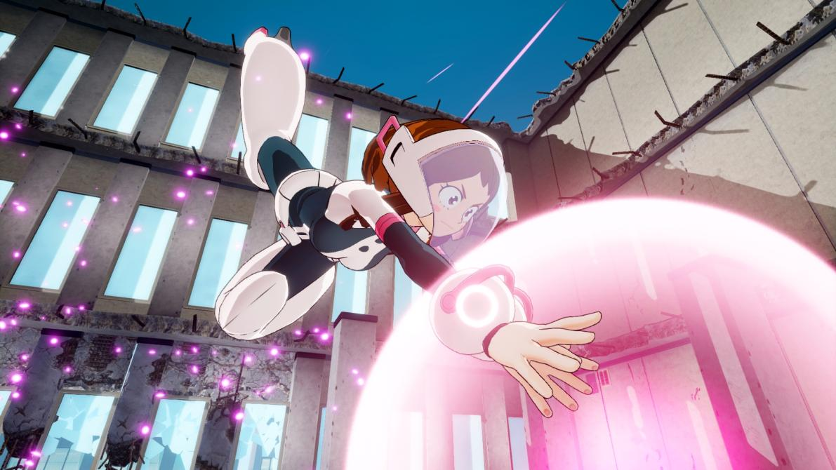 Ve las nuevas capturas de <em>My Hero Academia: One's Justice</em>