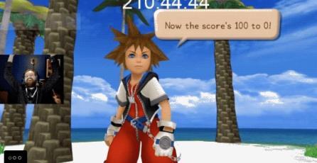Llega al nivel 100 de <em>Kingdom Hearts</em> tras pasar 210 horas en el tutorial