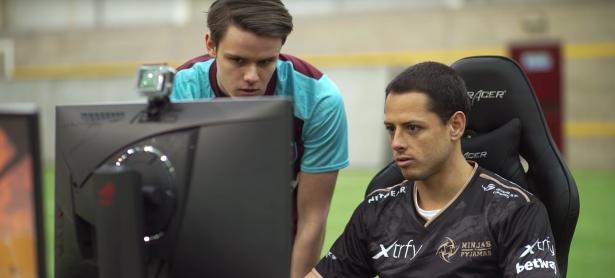 Chicharito Hernández demuestra sus habilidades en CS:GO