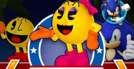 Confirman eventos de colaboración entre Sonic y Pac-Man