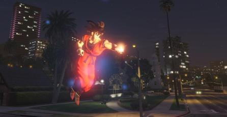 Ya disponible mod de <em>Dragon Ball Z</em> para <em>Grand Theft Auto V</em>