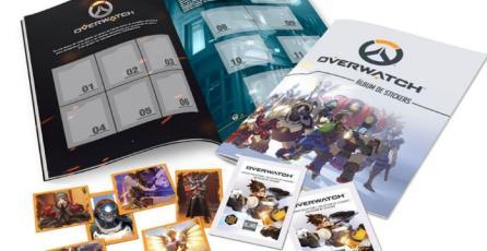 Confirman álbum de stickers de <em>Overwatch</em> para Chile