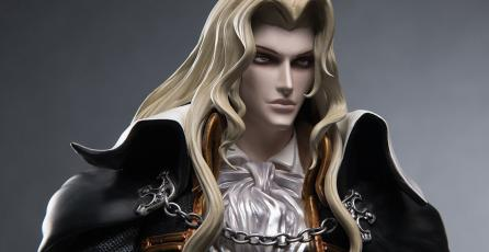 Mira esta increíble estatua de Alucard de <em>Castlevania: Symphony of the Night</em>