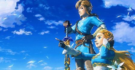 Nintendo celebra aniversario de <em>Breath of the Wild</em> con nuevo arte