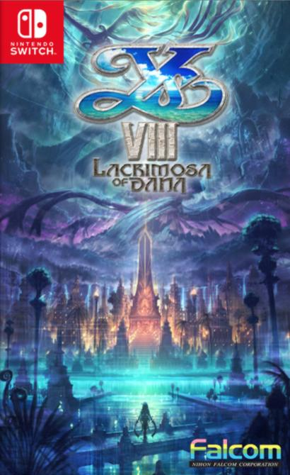 Estas son las portadas alternativas de <em>Ys VIII: Lacrimosa of Dana</em> para Switch