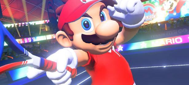 <em>Mario Tennis Aces</em> podría debutar en junio