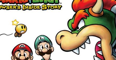 <em>Mario &amp; Luigi: Bowser's Inside Story</em> estará disponible en Nintendo 3DS