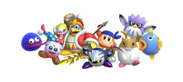 Viejos amigos te ayudarán en <em>Kirby: Star Allies</em>