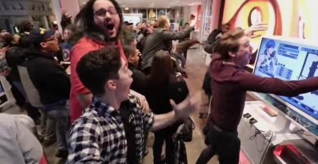 La emocionada reacción de los Neoyorquinos tras anuncio de <em>Super Smash Bros.</em>