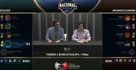 Evilvice se convierte en el tetracampeón del Circuito Nacional Chileno de League of Legends