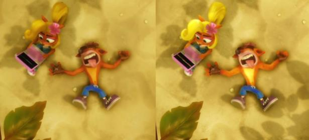 Así luce <em>Crash Bandicoot</em> en Switch comparado a PS4 Pro