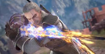 Confirman a Geralt of Rivia para el elenco de <em>SOULCALIBUR VI</em>