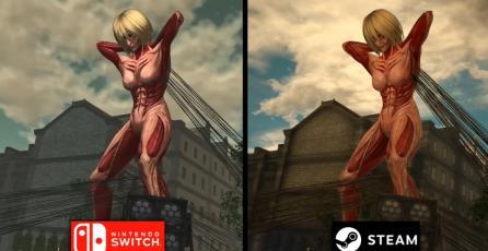 Así es como luce <em>Attack on Titan 2</em> en comparativa de PC vs. Switch