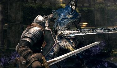 Comparten las primeras imágenes de<em> Dark Souls: Remastered</em> para PS4