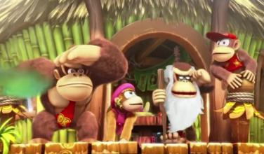 Dale un vistazo a 8 minutos de gameplay de <em>Donkey Kong Country: Tropical Freeze</em>