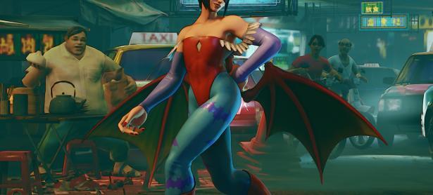 Atuendos de <em>Darkstalkers</em> llegarán muy pronto a <em>Street Fighter V</em>