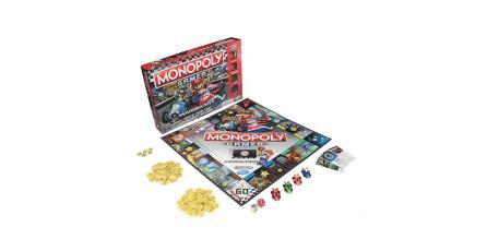 Hasbro lanzará un nuevo Monopoly Gamer de <em>Mario Kart</em>