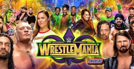 Un vistazo a la cartelera de <em>WWE Wrestlemania 34</em>