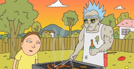 Bizarro corto de <em>Rick and Morty</em> se presentó como broma del April Fools