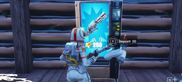 Máquinas expendedoras están en camino a <em>Fortnite: Battle Royale</em>