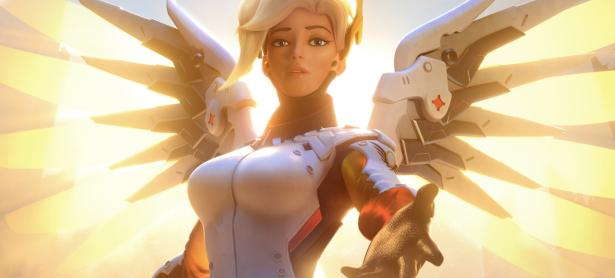 Lanzarán impresionante figura de Mercy de <em>Overwatch</em>