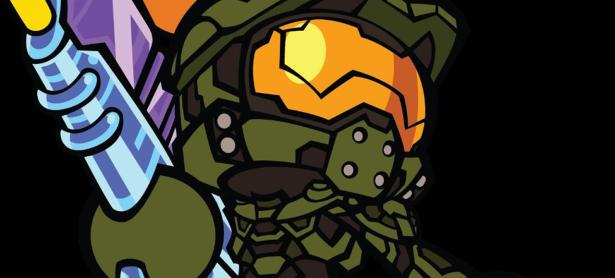 Así lucirá el Master Chief en <em>Super Bomberman R</em>