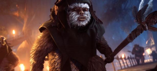 Los ewoks protagonizarán el nuevo modo de <em>Star Wars: Battlefront II</em>