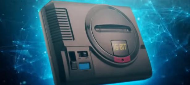 SEGA presenta su nueva consola, la Mini Mega Drive