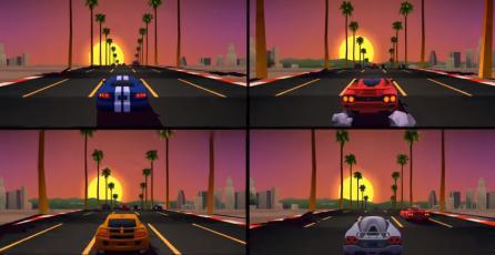 """<em>Horizon Chase Turbo</em>, nuevo juego de carreras """"retro"""" para PlayStation 4 y PC"""