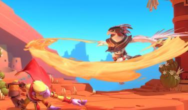 Las peleas de <em>Brawlout</em> llegarán pronto a PS4