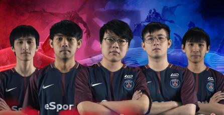 París Saint-Germain compra equipo Chino de Dota 2 y se une al mercado internacional