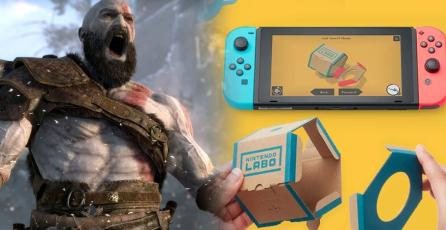 <em>Nintendo Labo</em> supera en ventas a <em>God of War</em> en Japón