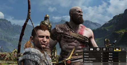 <em>God of War</em> viene incorporado con un robusto modo de fotografía