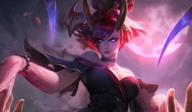 """Riot Games filtra por equivocación la ilustración de Evelynn """"Luna Sangrienta"""""""