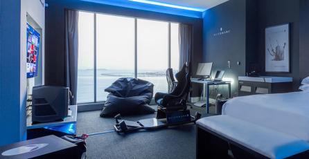 Alienware diseña increíble suite de hotel para jugadores