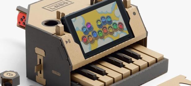 Nintendo Labo triunfó en su semana debut en Japón