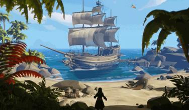 Despídete de los barcos voladores de <em>Sea of Thieves</em>
