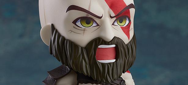 Este Nendoroid convierte a Kratos de <em>God of War </em>en un ser adorable