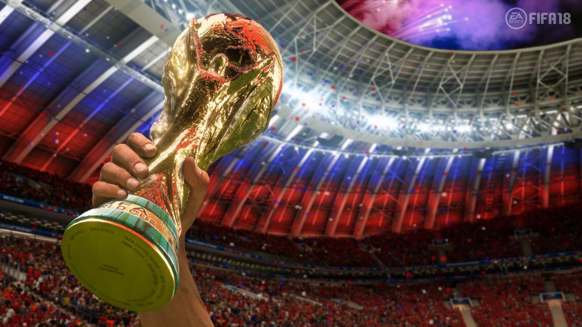 Así se ve el Mundial de Rusia en <em>FIFA 18</em>