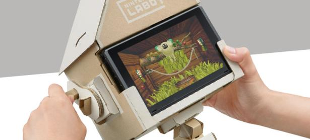 <em>Nintendo Labo</em> solo vendió un 30% de sus unidades iniciales en Japón