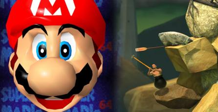 Crean parodia de <em>Getting Over It</em> pero con <em>Super Mario 64</em>