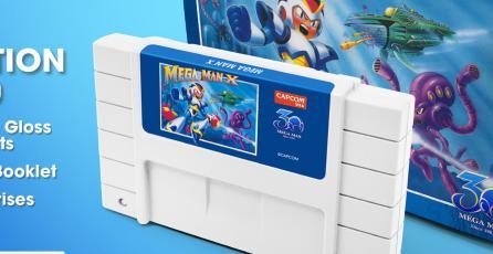 Relanzarán cartuchos de <em>Mega Man X</em> y <em>Mega Man II</em>