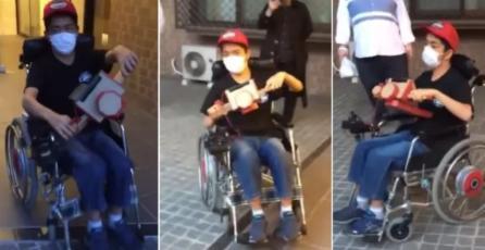 Utilizan Nintendo Labo para manejar una silla de ruedas