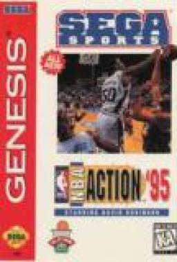 NBA Action 95 starring David Robinson