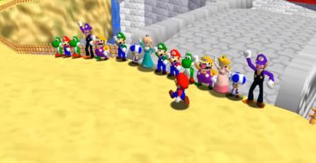 Ya puedes bajar la segunda versión de <em>Super Mario 64 Online</em>
