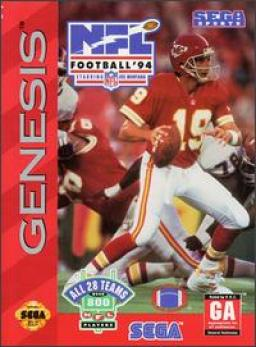NFL Football 94 Starring Joe Montana